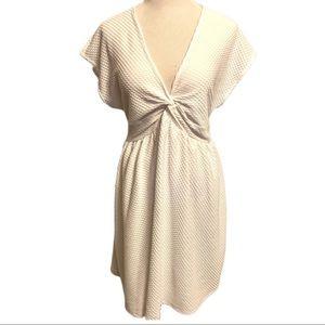 NWT ASOS Pristine White Backless Dress Sz 12